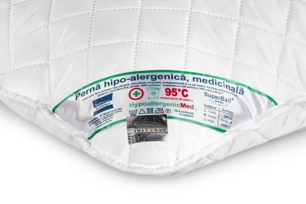 4 gyógypárna szett Somnart HypoallergenicMed 95 ° C-on mosható – 50 × 70