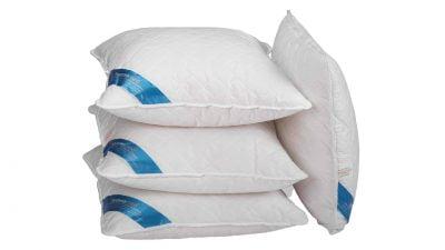 4 db Somnomed antimikrobiális és gombaellenes párna készlet, 95 ° C-on mosható – 70 x 70 cm