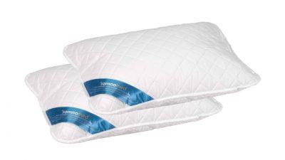 2 db Somnomed antimikrobiális és gombaellenes párna készlet, 95 ° C-on mosható – 50 x 70 cm