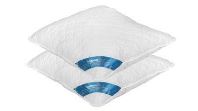 2 db Somnomed antimikrobiális és gombaellenes párna készlet, 95 ° C-on mosható – 70 x 70 cm