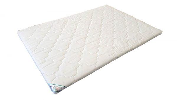Somnart HypoallergenicMed Topper 100% pamut huzattal 160×200 cm
